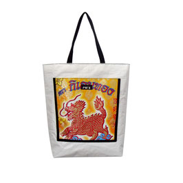 Shoppingbag/Strandtasche Drache