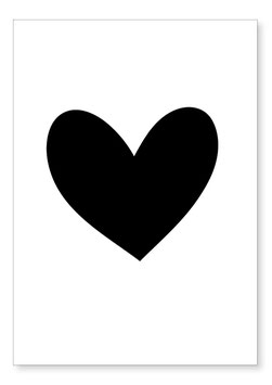 Affiche coeur