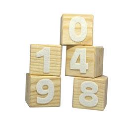 Cube personnalisé - chiffre