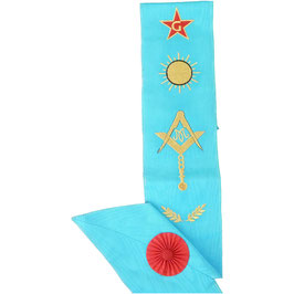 Cordon Maître brodé 6 symboles