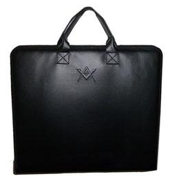 Porte-décors noir avec logo embossé avec G