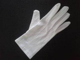 Gants blancs en nylon, taille L