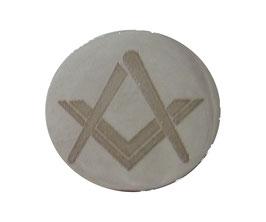 Pin's maçonnique gravé