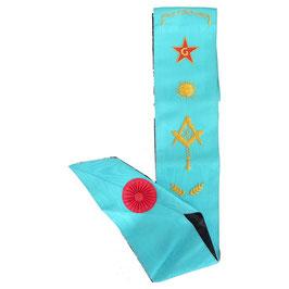 Cordon Maître brodé 7 symboles