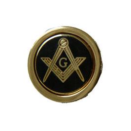 Pin's rond avec G