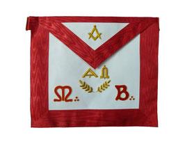 Tablier de Maître avec symboles