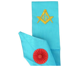 Cordon de Maître brodé 1 symbole
