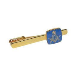 Epingle à cravate bleue classique
