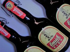 Emrich Bier Naturtrüb, 18 Bügelflaschen a 0,33l