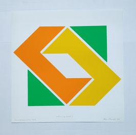 Serigraphie, Heijo Hangen, 1970/71