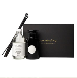 CHAVANT APOTHECARY ROOM DIFFUSER WITH BLACK REEDS - LAZY MEDITERRANEAN EVENING (250ML)