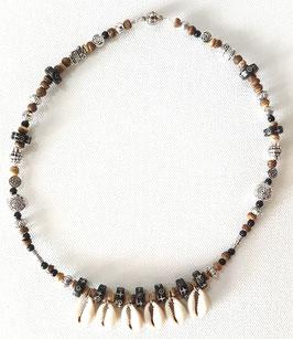 Natur Halskette mit Muscheln