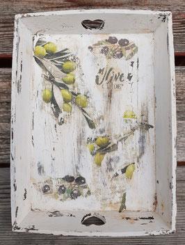 Tablett Oliven 4 (mittel)