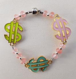 Dollar-Zeichen Armband