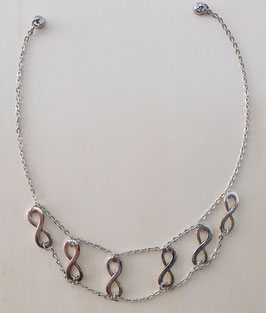Halskette mit Unendlichkeits-Zeichen