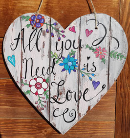 All you need is Love; Herz gross