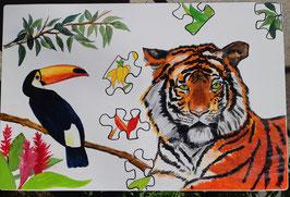"""Kindertisch """"Tiger und Tukan"""""""