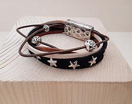 """Kunstwildleder Armband """"braun"""""""