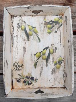 Tablett Oliven 3