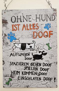 Ohne Hund Doof