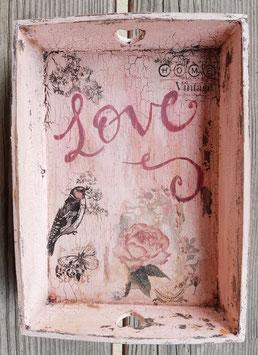 Tablett Love (klein)