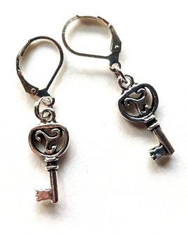 Schlüssel Ohrringe