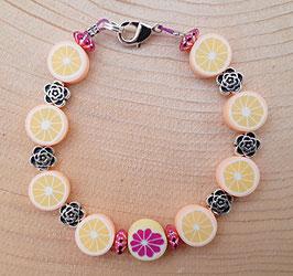 Armband Orangen und Grapefruit