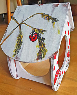 Vogelhäuschen Marienkäfer