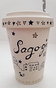 """Bambus Becher """"Sagogn"""", 500 ml"""