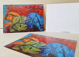Karten Ochsen (Postkarten)
