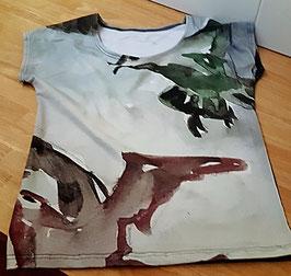 T-Shirt Möwen (Digitaldruck)
