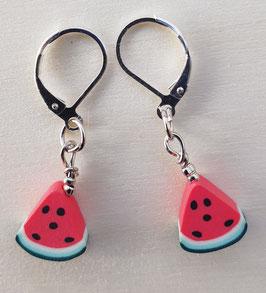 Ohrringe Wassermelone