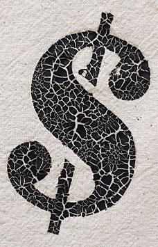 Baumwolltasche weiss mit schwarzen Zahlen