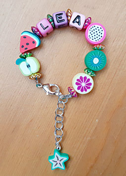 Armband mit Namen Mädchen (Variante 3)