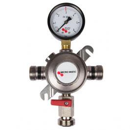 Zwischendruckregler CO2 und N2, 3 bar
