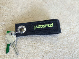 Der JAGDSPEZI-Schlüsselanhänger