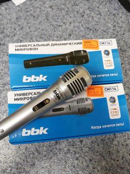 Микрофон проводной BBK CM114