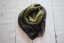 Tuch grün-lila