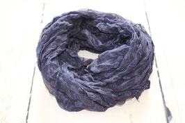 Tuch Navyblau mit Muster
