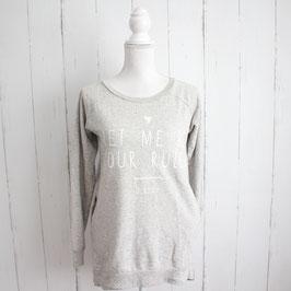 Sweatshirt von Sinsay Gr. S