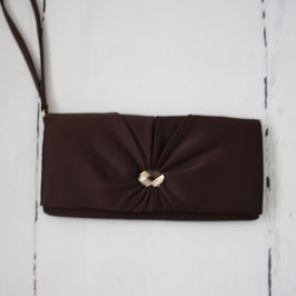 Clutch Tasche Braun von Debute
