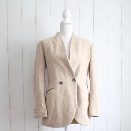 Kurzer Mantel von Designer Umberto Ginoccietti Gr. 44