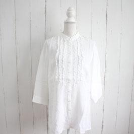 Weiße Bluse no Name Gr. L