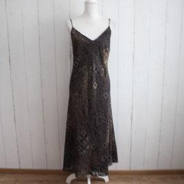 Kleid von Gold Gr. 46