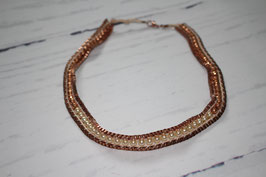 Collier Rosegold