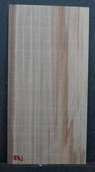 Kopfplatte Satinnußbaum