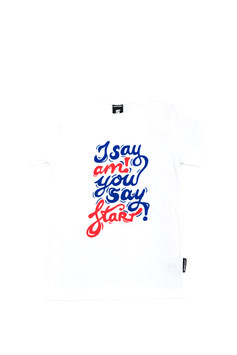 AMSTART SHIRT  I say am you say start MEN