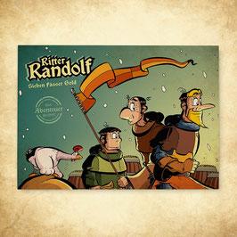 Comicbuch: Sieben Fässer Gold – Das Abenteuer beginnt