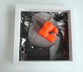 """3D BOX """" le penseur métamorphose """" - Fragment D"""