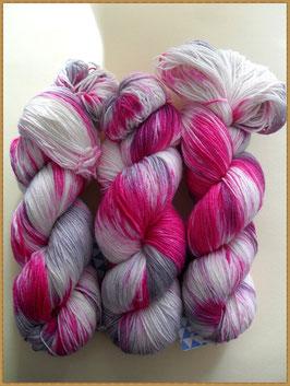 Fine Merino Socks 4-fach, handgefärbt